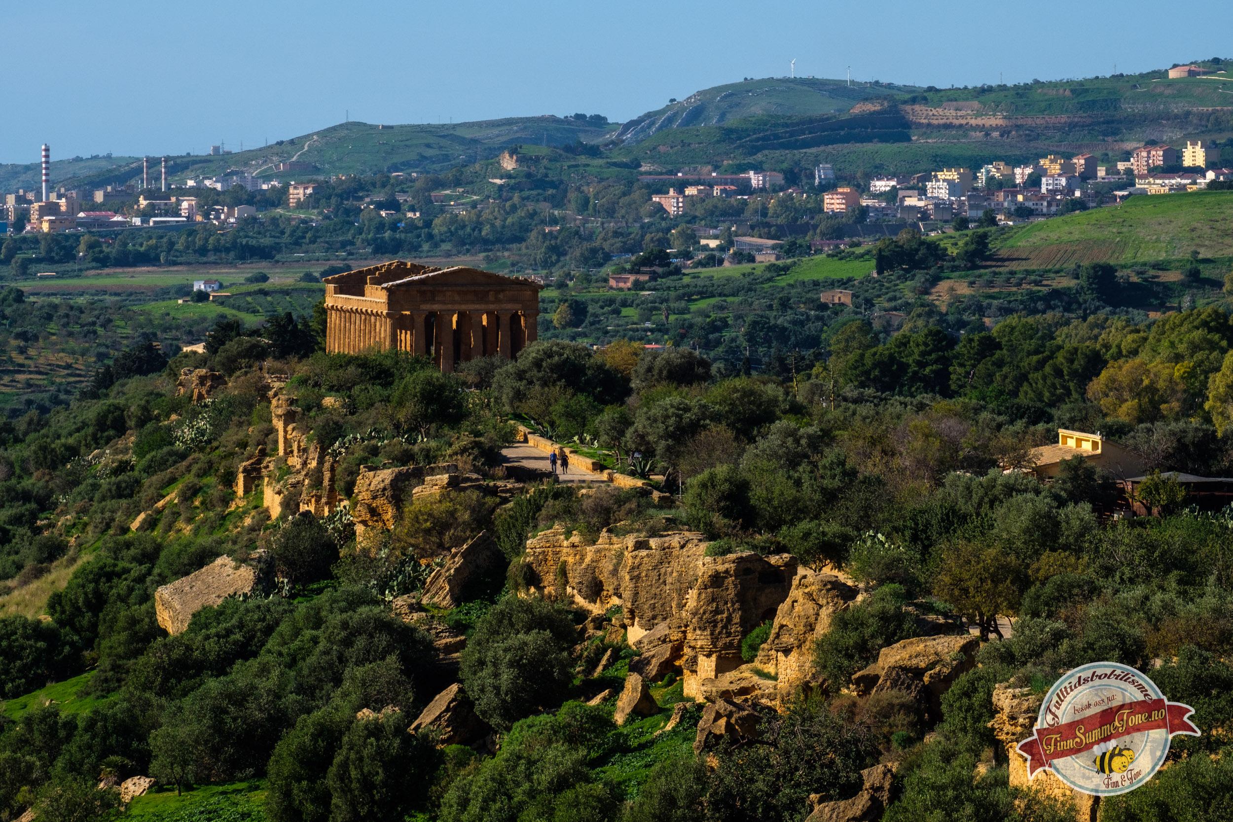 Med bobil på Sicilia – Del 5 – Vandring i Tempeldalen