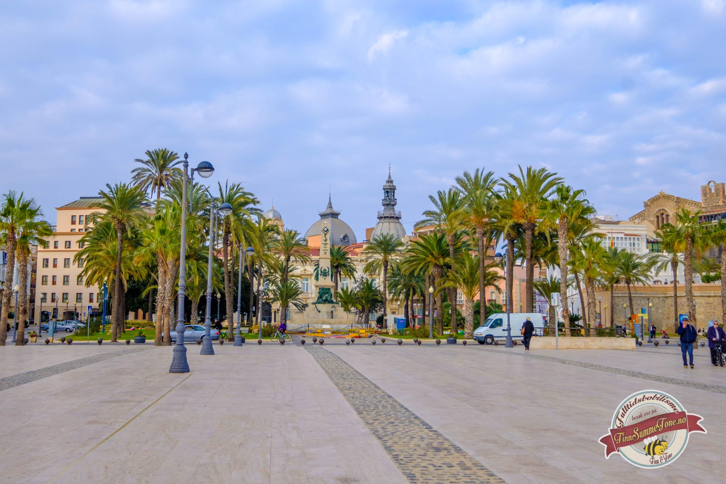 Byvandring i Cartagena
