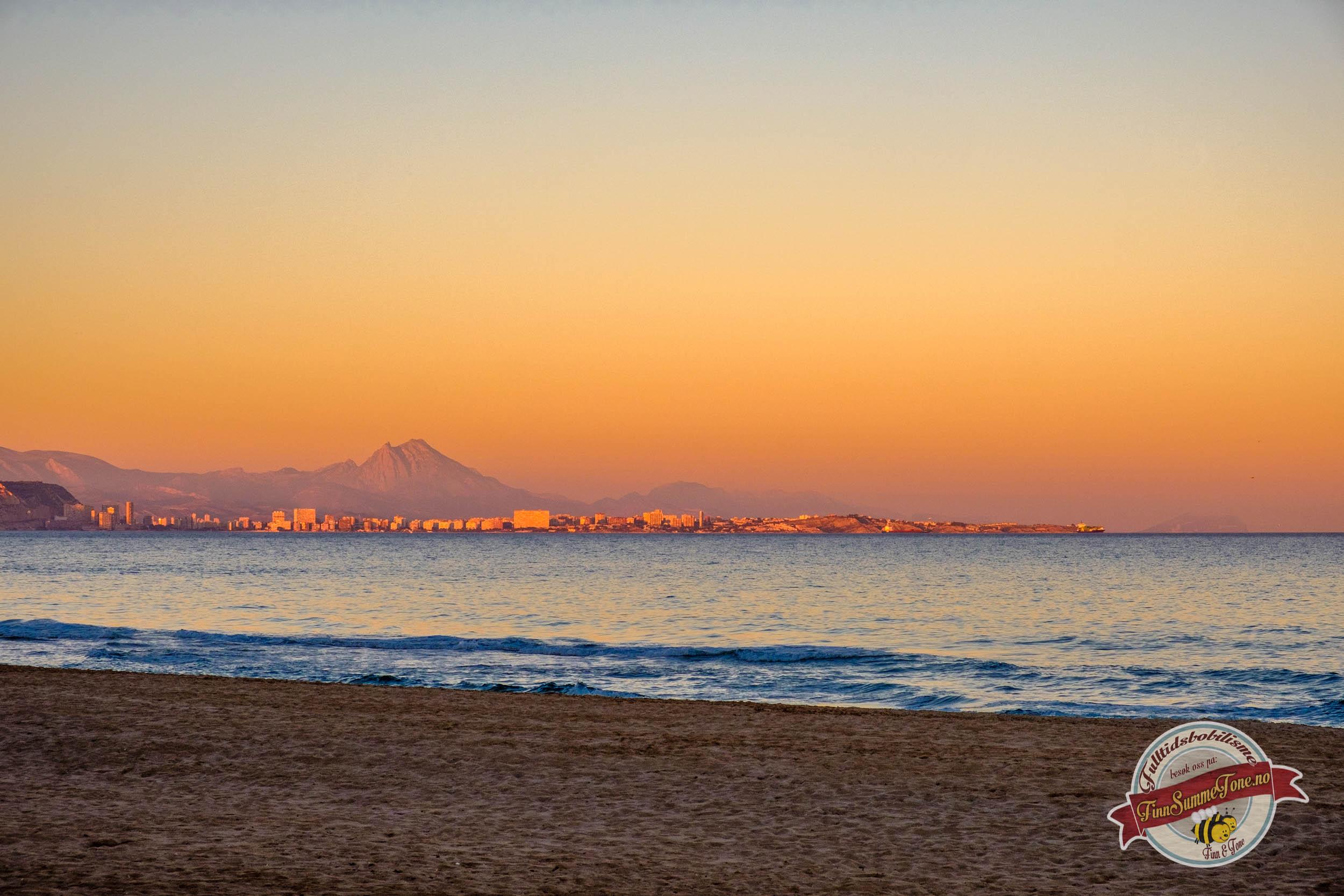 Late dager ved Playa del Saladar